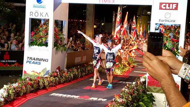 Michael Somsan blind triathlete