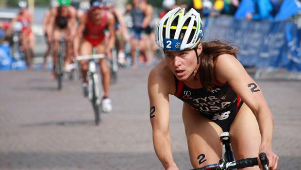 A triathlete