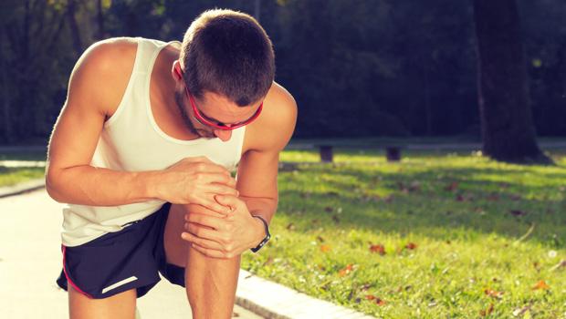 An injured runner