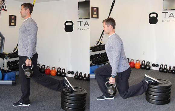 Split+squats