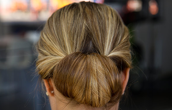 From Gym to Date Night Chic Chignon