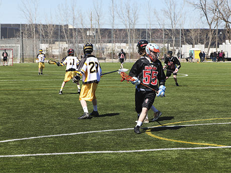 Three and Go! Lacrosse Drill