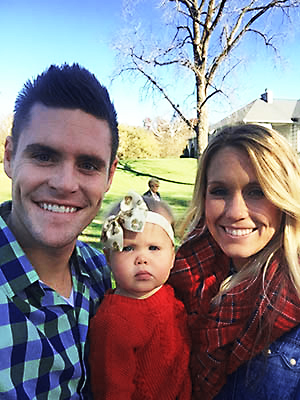 David Boudia and daughter