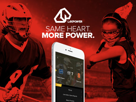LaxPower Launches Lacrosse's Ultimate App