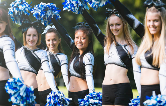 """cheerleader dating website According to the three-page sea gals rules, cheerleaders are discouraged from """"fraternization, dating, cohabiting or marrying current seahawks employees,"""" which also includes the team's mascot."""