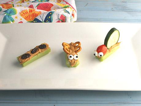 Spring-Themed Critter Snacks for Kids