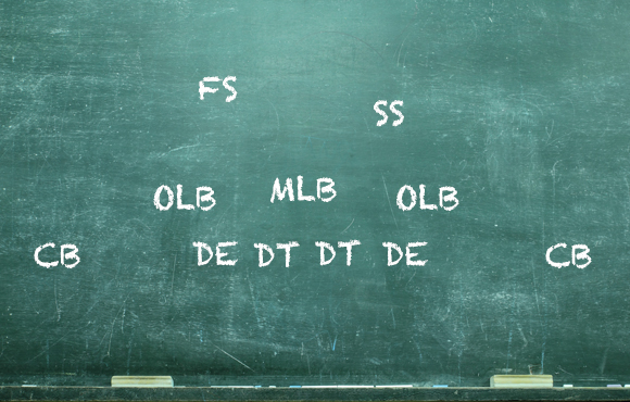 Football Play on Whiteboard