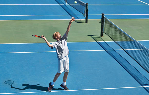 4 Simple Tennis Games for Kids