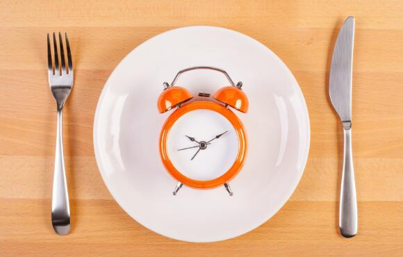 Clock on Plate