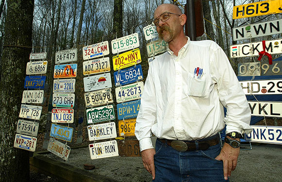 Gary Cantrell, organizer of the Barkley Marathon. (AP Photo/Wade Payne)