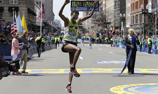 Boston Marathon winner
