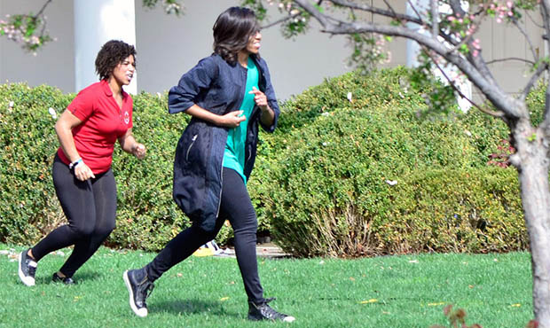 Michelle Obama Fun Run