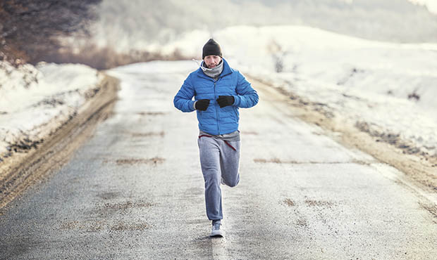 Motivated Winter Running