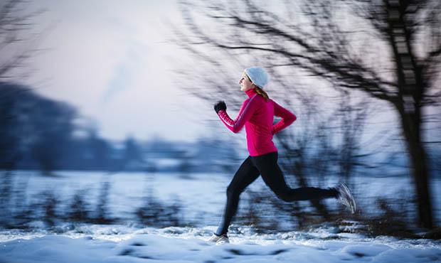 Winter runner.