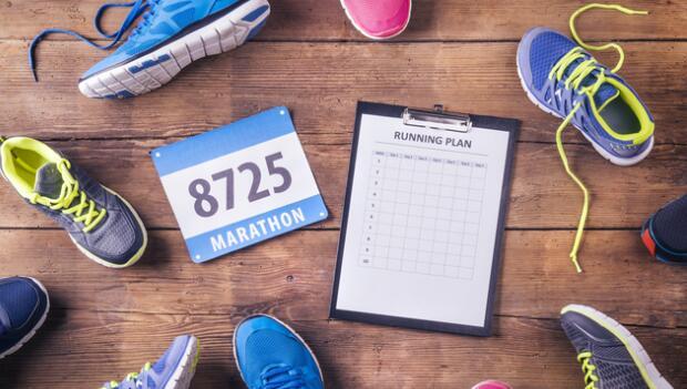 A Training Schedule for Marathon Beginners