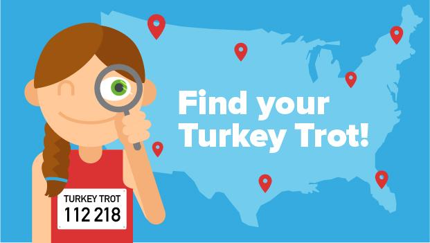 turkey trot graphic