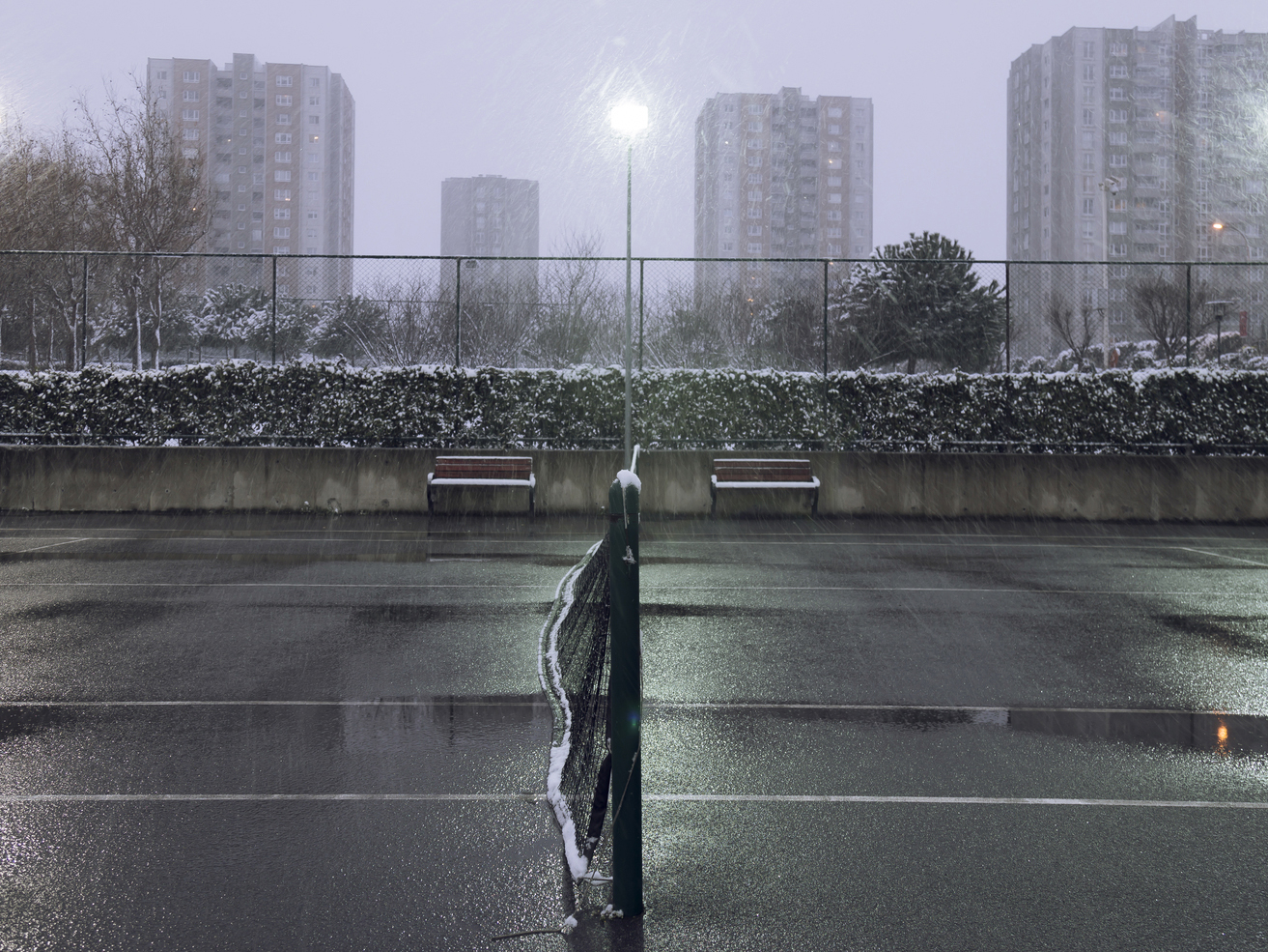 5 Tips for Playing Tennis in Cold Weather