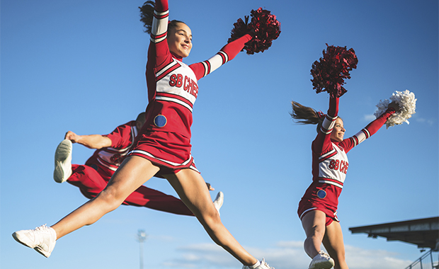 Cheerleading the most dangerous sport activekids for Cheerleading arts and crafts