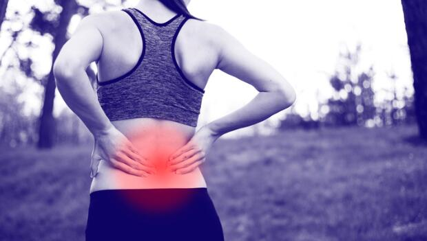 Severe lower stomach pain after running