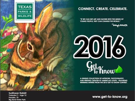 2016 Texas Parks & Wildlife Calendar Features Kid-Made Art