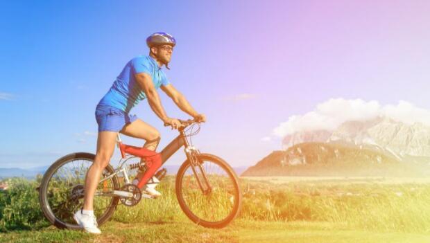 Biker in Heat
