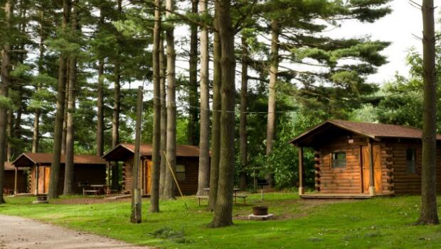Camping Cabins In The Pines