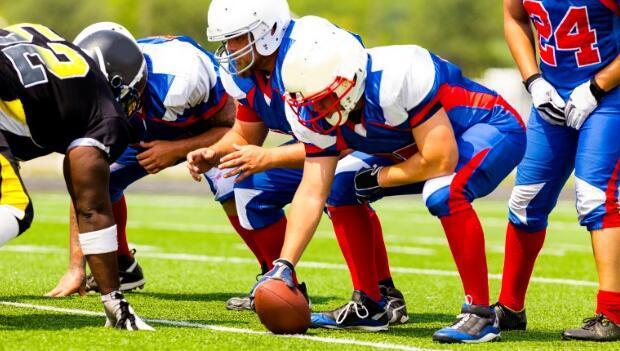 Offensive Football Linemen