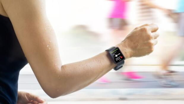Runner Monitoring Heart Rate