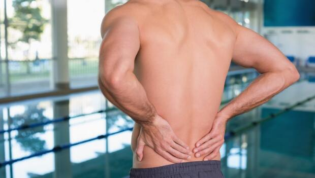 Swimmer With Back Ache