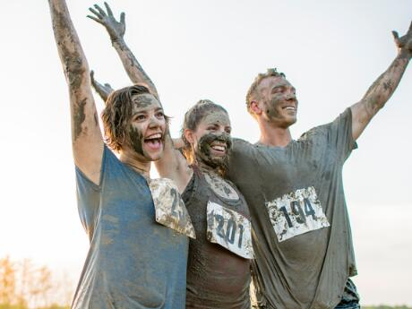 what to wear during mud run
