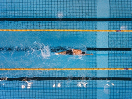 Four Focused Swim Workouts