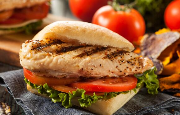 Teriyaki Grilled Chicken Sandwich