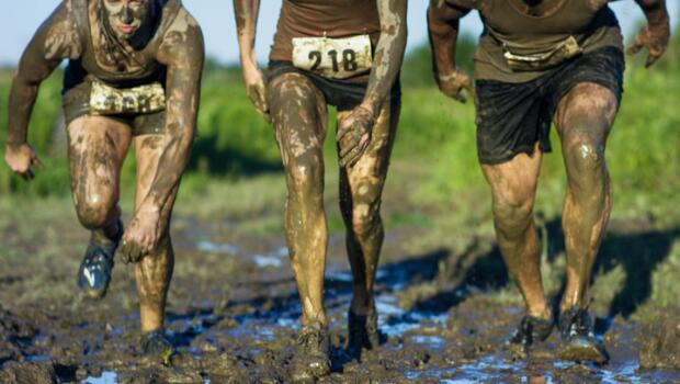 25464b9be What makes an overweight, out-of-shape person spend upwards of $60 to  endure 3.5 to 10.1 miles of physical activity they have been avoiding for  years? Mud!