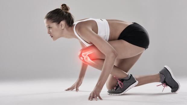 Running Knee in Pain