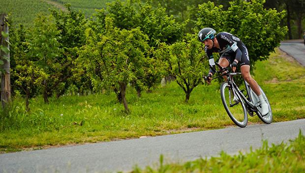 aerodynamic cyclist