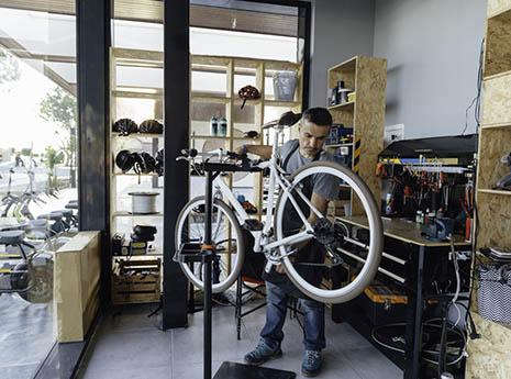 Bike+shop front