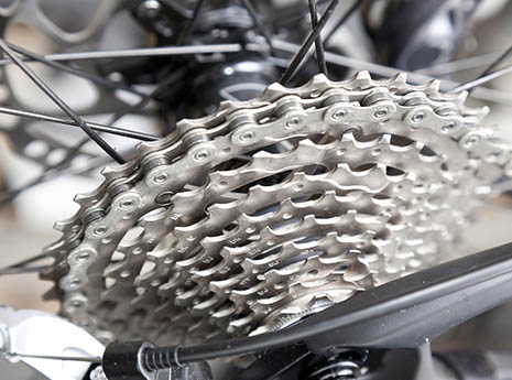 Bike+gears front