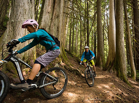 a brake drill for beginning mountain bikers active