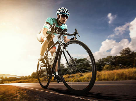 Cyclist-front