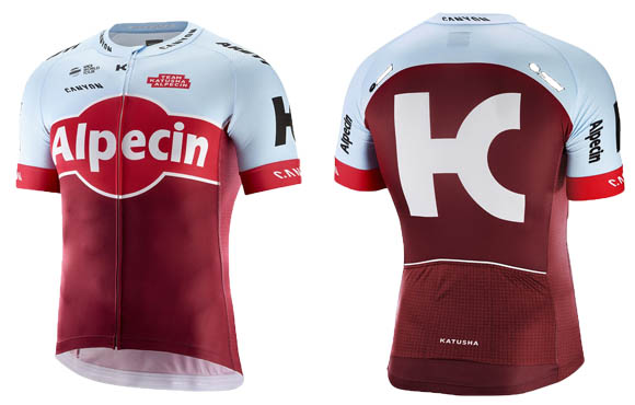 The designers of this jersey did a good job working with the shape of the  sponsor s primary logo. Typically de049f00e