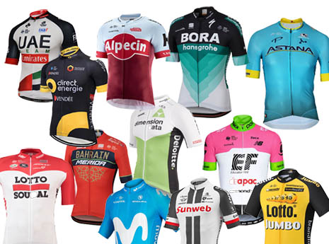 Pro Team Jerseys: The Good, the Bad and the Ugly