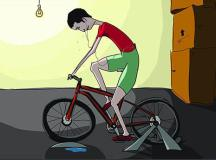 16 Thoughts Every Cyclist Has on the Trainer
