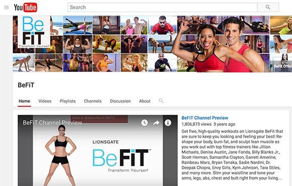 Best Free Fitness YouTube Channels