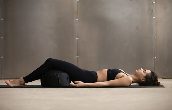 Of All Of The Poses On This List, Corpse Pose Is The One You Will Want To  Spend The Most Time In. Lie Down Onto Your Back And Place A Pillow Or ...
