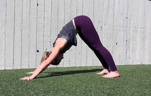 Downward Dog Heels Can T Touch Floor
