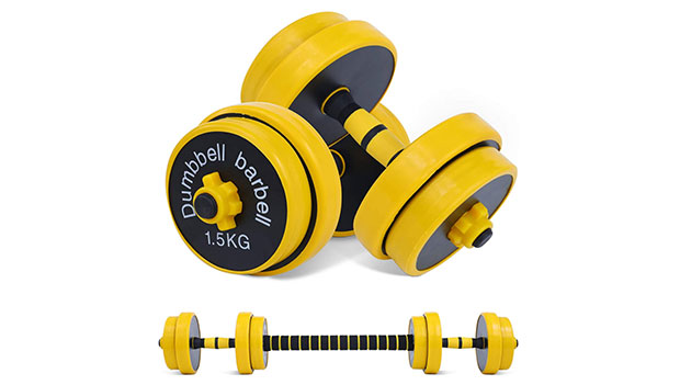 9-Nice-C-Adjustable-Dumbbell-Barbell-Weight-Pair