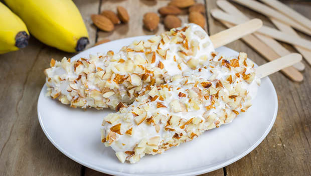 yogurt covered banana