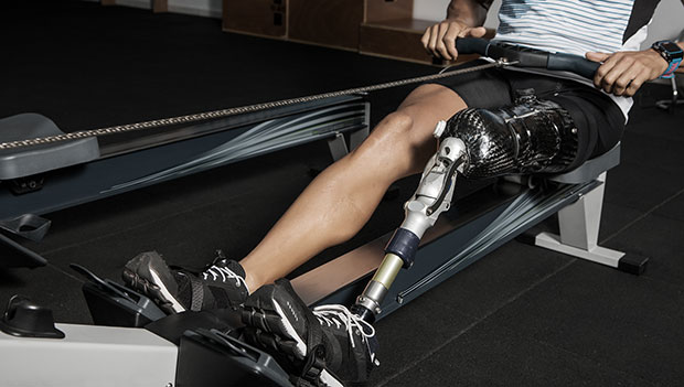 man-with-a-prosthetic-leg-on-a-rower