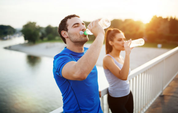 Exercising in the summer sun means your body is using water to regulate  your temperature. When you re low on fluids 22e68d30001