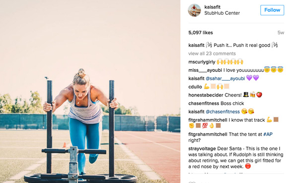 f2826469cb4 Kaisa Keranen is a Seattle-based personal trainer and certified badass. If  her Instagram doesn t convince you that women should lift